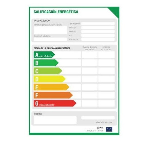 Certificados energético de viviendas y locales comerciales: Servicios de Abaco Técnica (Arquitectura Técnica de Bajo Consumo)