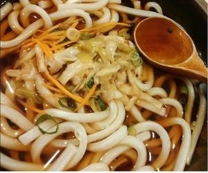 Sopas de Udon Noodles. Sushi