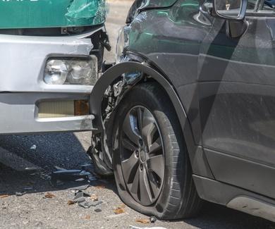 ¿Has tenido un accidente de tráfico?