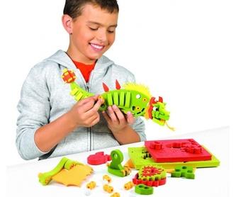 Construye tu famoso dragón