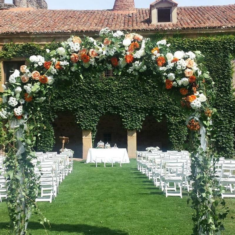 Decoración fincas: Arreglos Florales de Flores Cid Arte Floral