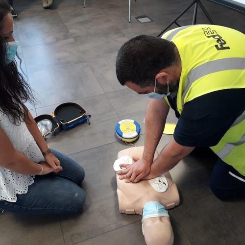 Cursos de primeros auxilios en Cerdanyola del Vallés | Reanimando