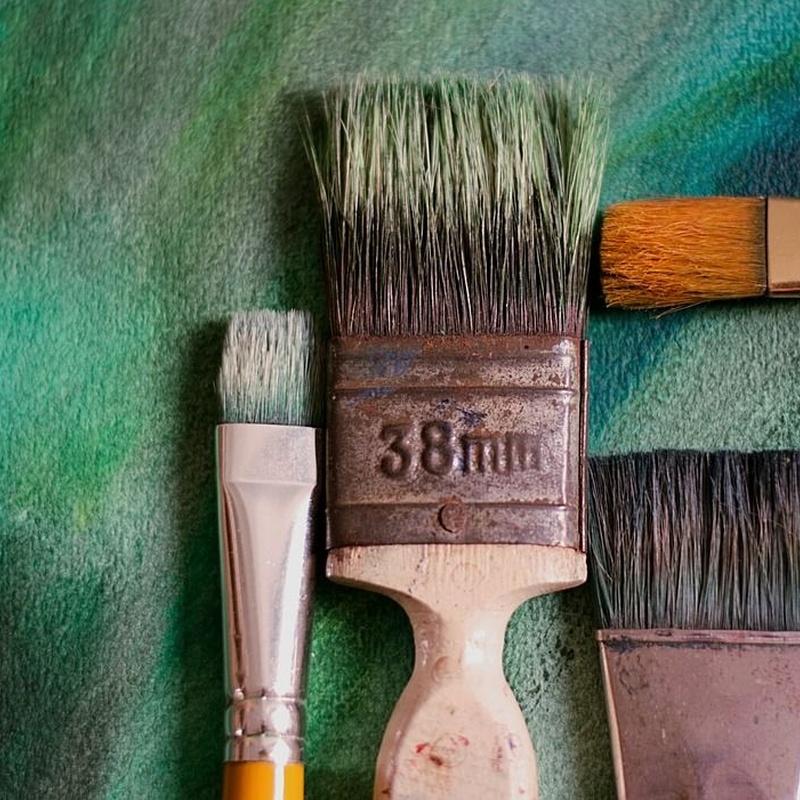 Esmaltes y barnices: Trabajos de Richard Pintura