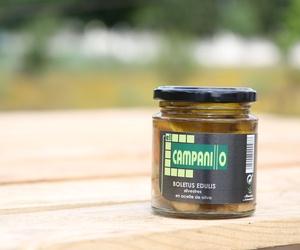 Conservas de Boletus Edulis Silvestres en aceite de oliva en Cáceres