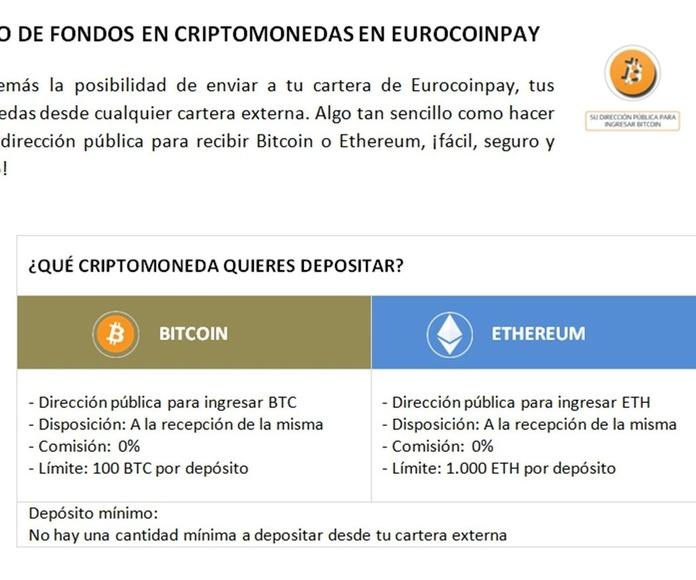 Medios de Pago: Servicios de Eurocoinpay