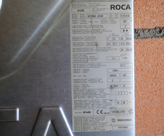 CALDERA ROCA VICTOTIA 20/20F