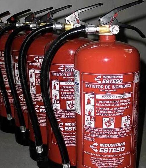 Normativa y regulación para el mantenimiento de extintores