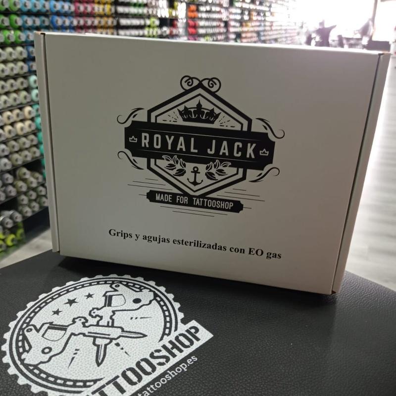 Grips y agujas Royal Jack: Productos de Adictos Tenerife