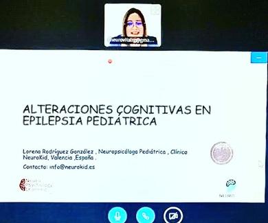Hablamos sobre alteraciones cognitivas en epilepsia pediátrica en Neuropsychology Learning