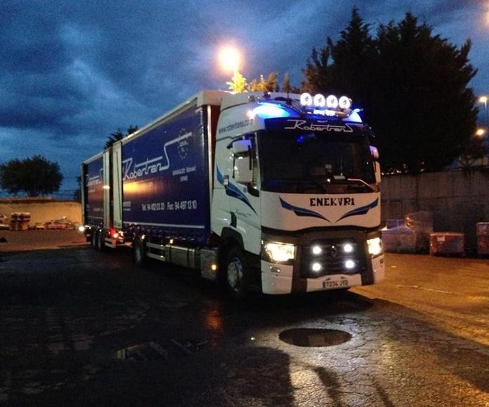 Paletería: Servicios de Nave Logística Robertrans