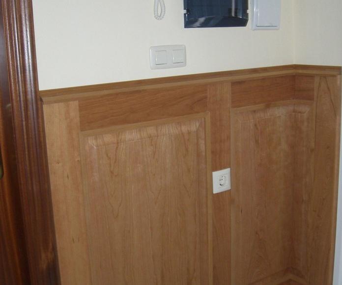 Forrado de paredes: CATÁLOGO de CARPINTERÍA Y EBANISTERÍA ARCAMADE