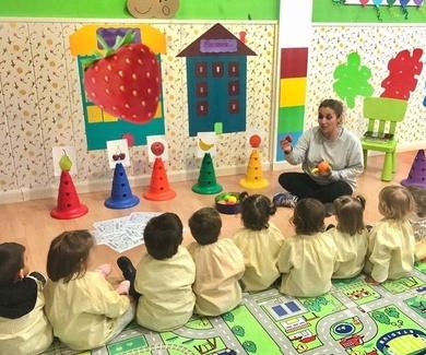 Taller de frutas en nuestra Escuela Infantil