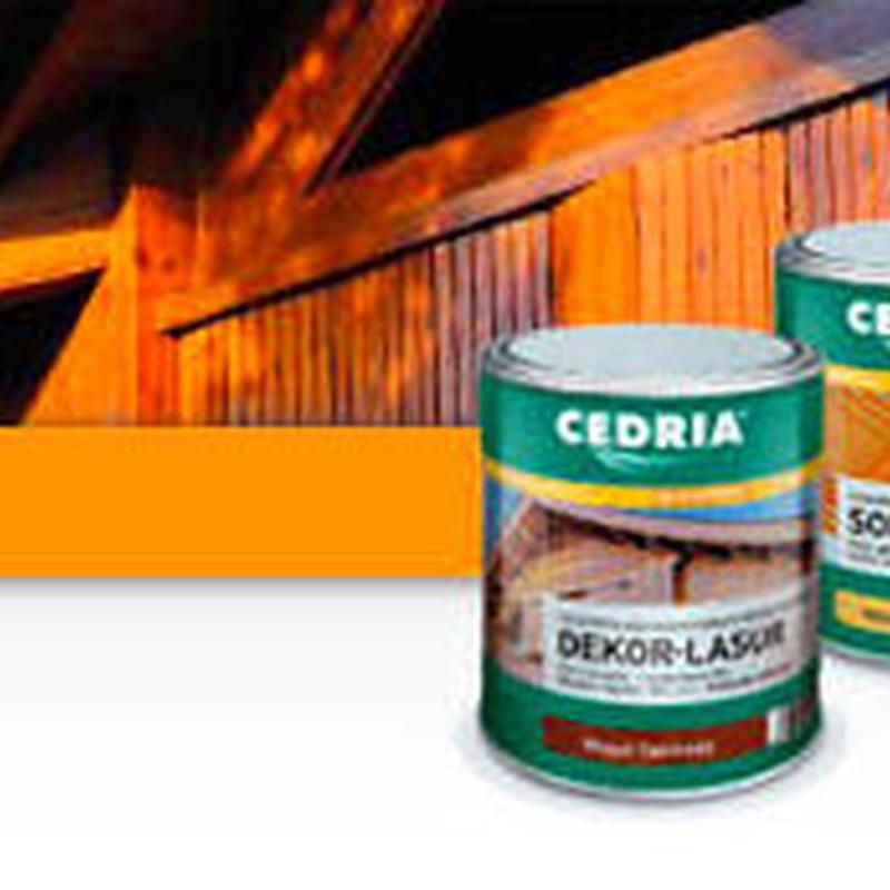 Productos para el tratamiento de la madera Asturias