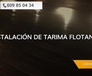 Tarimas flotantes en Oviedo - Parquets Víctor Martín