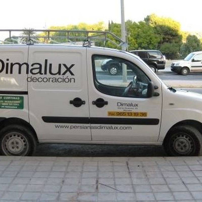 Venta, instalación y reparación de persianas: Productos y servicios de Toldos y Persianas Dimalux