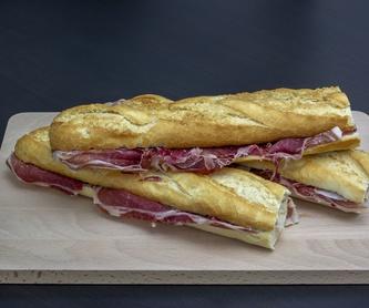 Sandwiches: Carta de Cafetería Bar Iberia