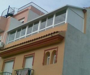 Cerramientos de terrazas en Málaga | Aluminios Mediterráneo