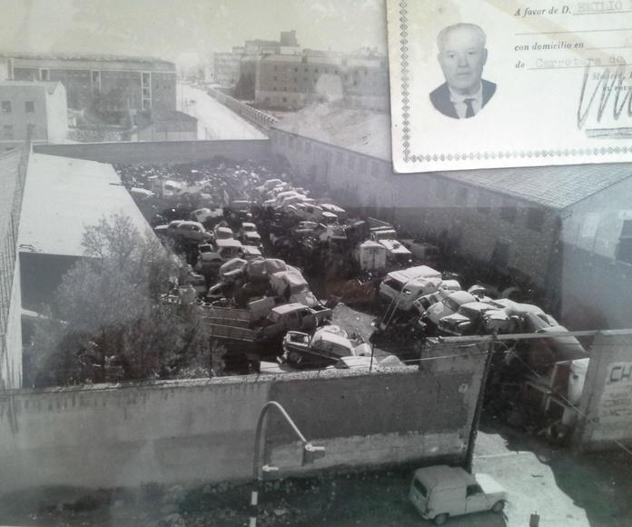 Foto de Chatarras Clemente finales de los 60