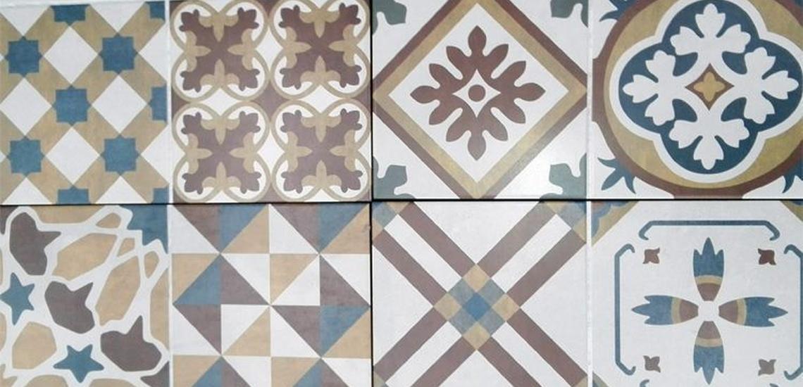 Materiales de construcción baratos en Aranda de Duero: gran variedad de azulejos