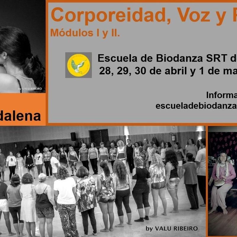 Corporeidad, Voz y Percusión. Con Augusto Madalena.