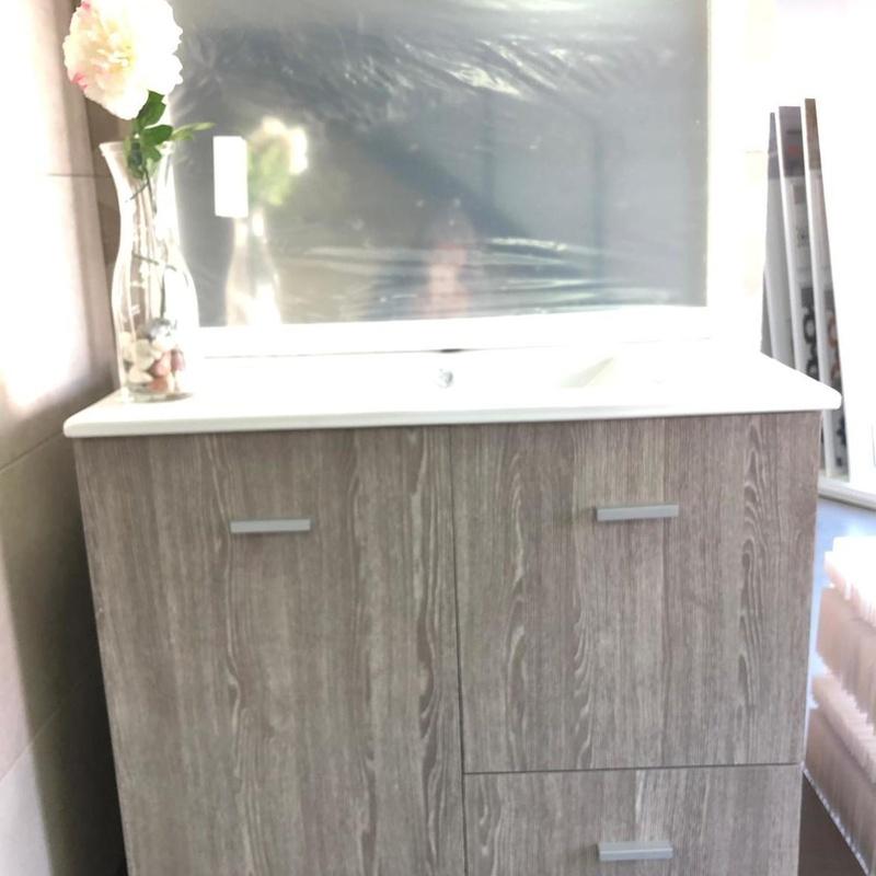 Ofertas muebles de Baño: Productos y servicios de Hermanos Garespi