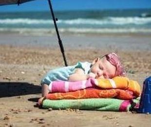 Recién nacido en verano