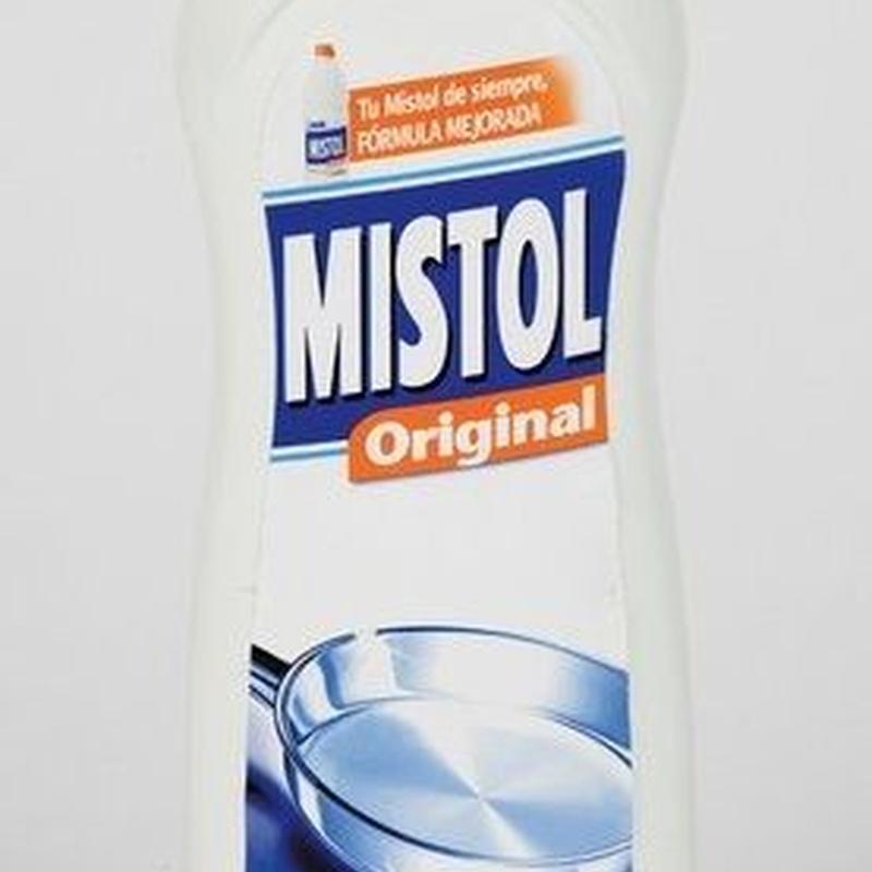 Lavavajillas Mistol: Productos y servicios de Comercial Cash Logon