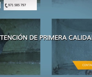 Limpieza de chimeneas en Mallorca | Limpiezas Filtro Net