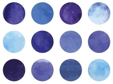 ¿Estos puntos son azules, púrpura o prueban que jamás seremos felices?
