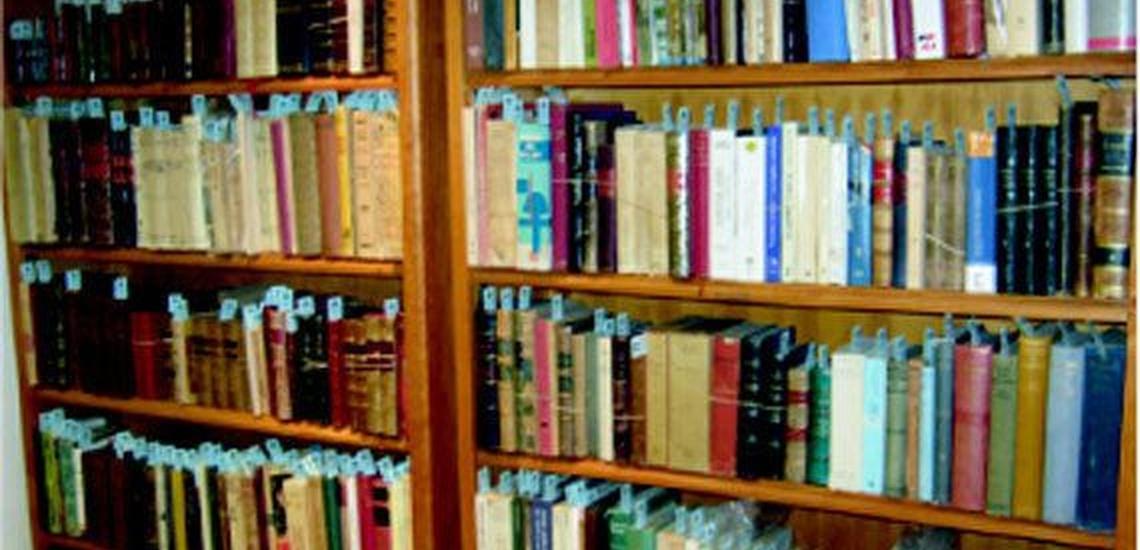 Subasta de libros en Madrid centro