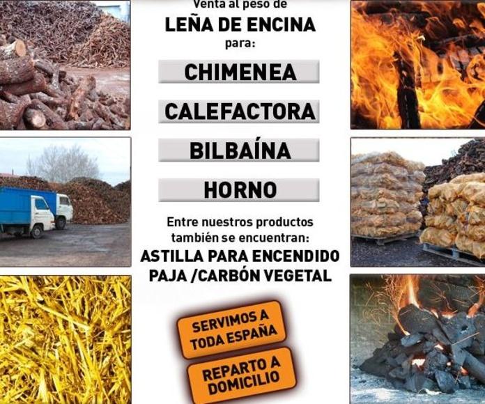 venta y distribución de leña Valladolid