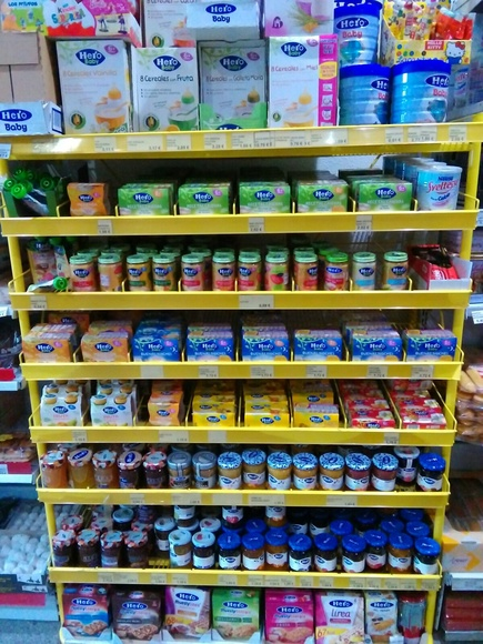 Alimentación infantil: Productos de Cash Tomelloso