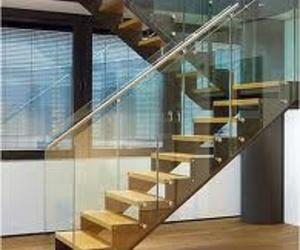 Escaleras en cristal