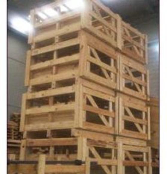 Jaulas de madera: Catálogo de Embalajes Aralar