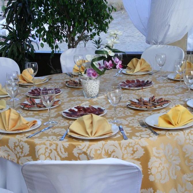 Tendencias en decoración de mesas nupciales