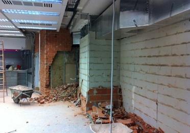 Rehabilitación de local comercial a Opencor Local Torrelodones