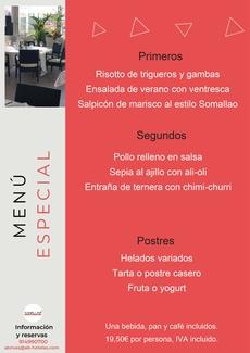 Restaurante Somallao, Menú Especial 30 de Junio al 6 de Julio de 2021