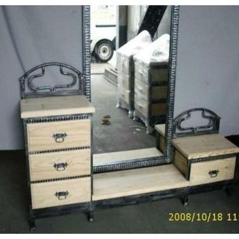 Muebles de forja: complementos de dormitorios: Productos de Arteforja JMC