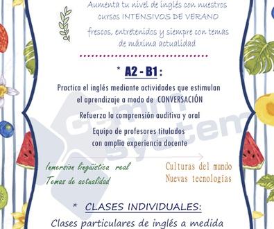 ¡Refresca tu inglés este verano con nuestros cursos!