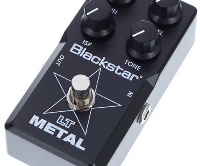 Pedal distorsión para metal/heavy Blackstar Lt Metal