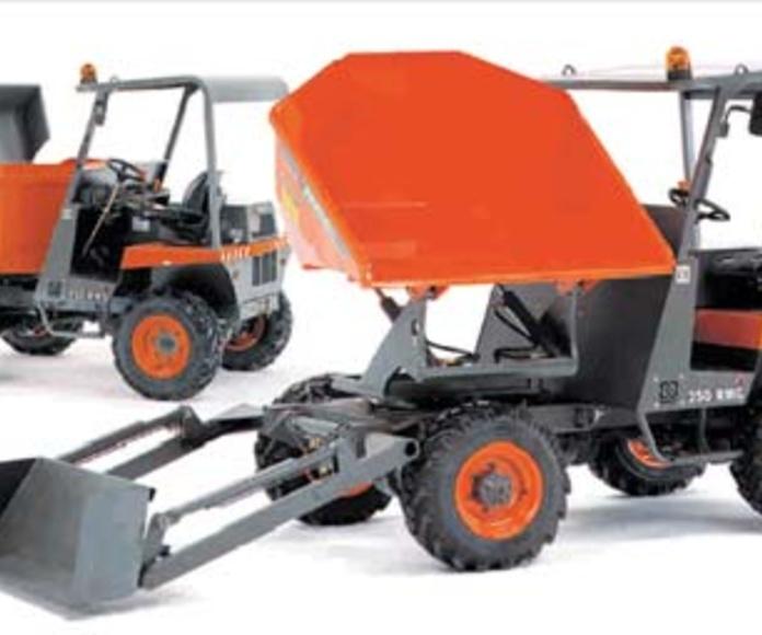 Dumpers marca Ausa con capacidad entre 2000 – 3000 kg: Catálogo de G.V. Manutención