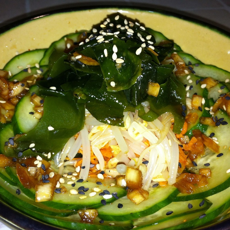 Ensalada japonesa: Menús de Kiniro Sushi