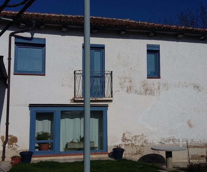 Pintura fachada estropeada