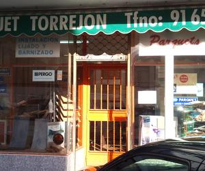 Barnizado de suelos en Torrejón