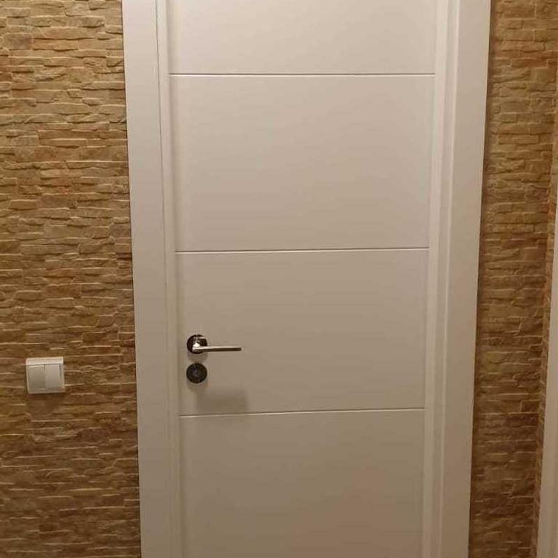 Puertas de madera de paso Fuerteventura