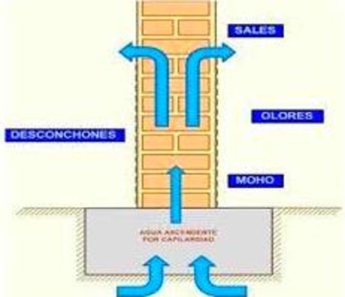 Pancrytex pliolite al agua, revestimiento para solucionar problemas de humedad en interiores.