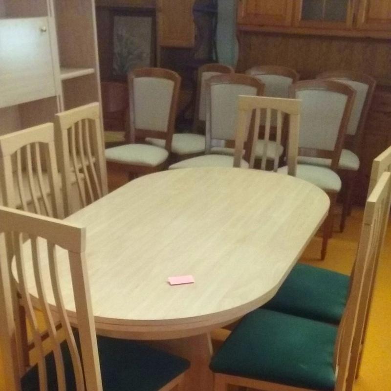 Juego de comedor con 6 sillas: Nuestros productos de Remar Albir