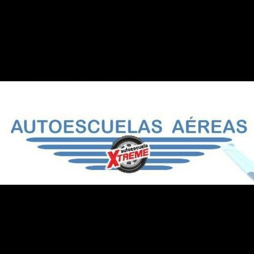 Autoescuela aérea en Madrid centro