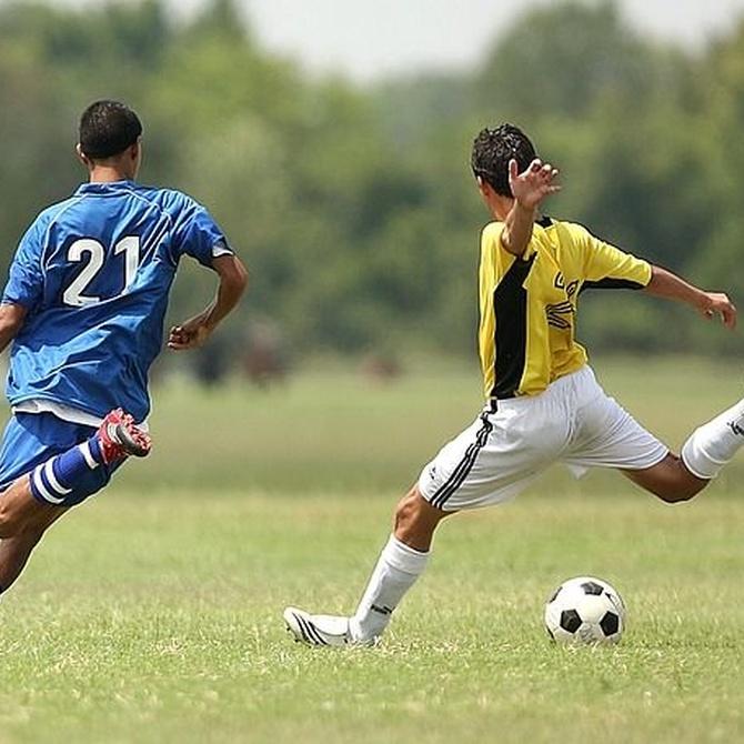 Las lesiones más frecuentes al jugar al fútbol