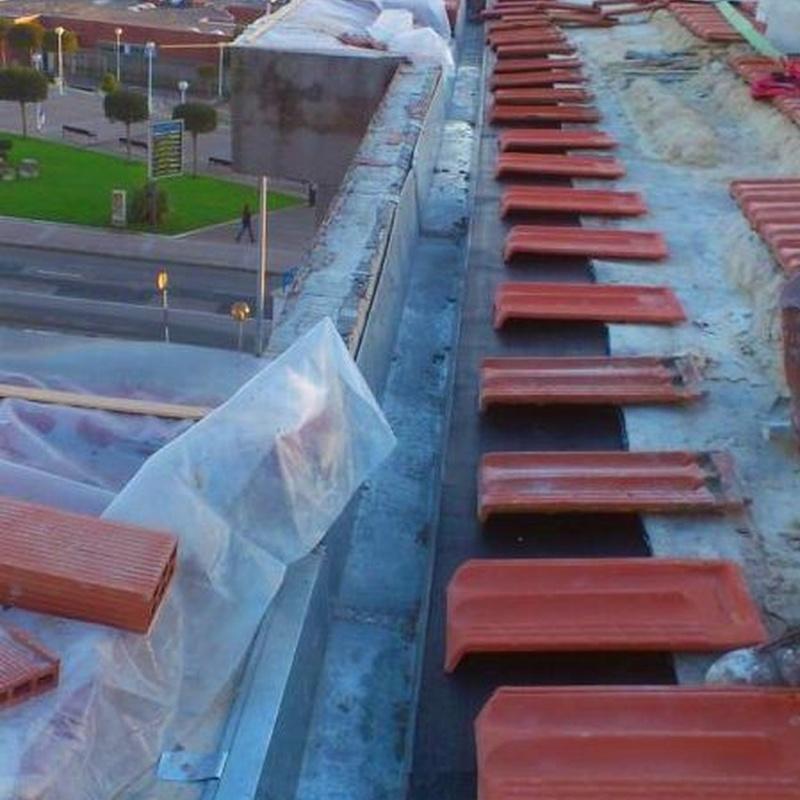 Reparación de tejado, cubierta o terraza en Santander-  Torrelavega.